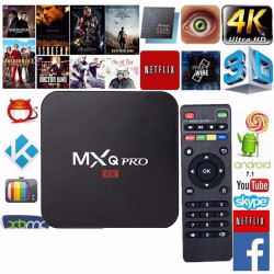 Android TV Box Mxq 4k Pró...